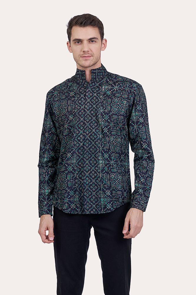 Long Sleeve Batik Shirt